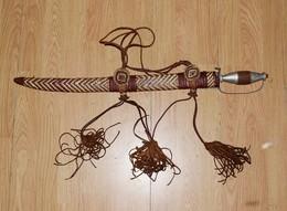 épée Traditionnel Africaine - Sabre Africain Origine Inconnue A Définir - Armes Blanches