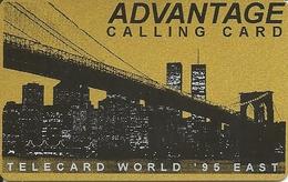 USA: B&J Telecard - TeleCard World '95 Exposition New York - Vereinigte Staaten
