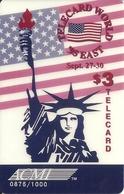 USA: ACMI - TeleCard World '95 Exposition New York - Vereinigte Staaten