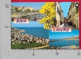 CARTOLINA VG ITALIA - RIVA LIGURE (IM) - Vedutine Multivue - 10 X 15 - ANN. 2000 - Imperia