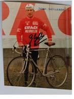 Carte Postale De Johan GHYLLEBERT - Dédicace - Hand Signed - Autographe Authentique - - Cyclisme