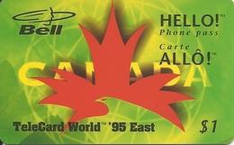 Canada: Bell - TeleCard World '95 Exposition New York - Canada
