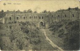 Diest : Fort Leopold  ( Geschreven Met Zegel ) - Diest