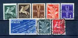 1930-32 REGNO PA SET USATO 10/17 - 1900-44 Vittorio Emanuele III