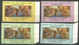El Salvador - 1967  Dr Jose Simeon Canas MNH **       Sc 774-5 & C339-40 - El Salvador
