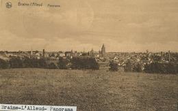 Braine-L'Alleud  :  Panorama   ( Ecrit Avec Timbre ) - België