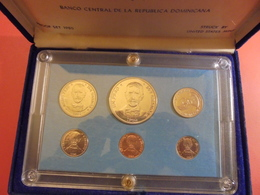 REPUBLICA DOMINICA PROOF SET 1980 - Dominicaine