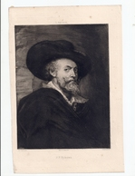 P.P. Rubens, Van Dyck. (repro. Originale) - Estampes & Gravures