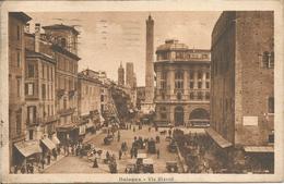 Bologna  -   Via Rizzoli.  (scan Verso) - Bologna