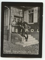 Marcheurs Sur L Escalier De L Hôtel Du Gd Ballon ( Ballon De Guebwiller )  - F 68 - Le 23/5/ 1923 Animée - Lieux