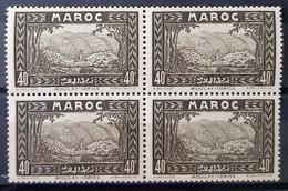 MAROC - N°137 - Neuf SANS Charnière ** / MNH - BLOC DE 4 - Maroc (1891-1956)