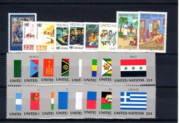 UNO New York: 1987 - Complete Year MNH / Postfris - New York - Hoofdkwartier Van De VN