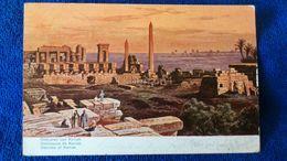 Obelisken Von Karnak Egypt - Egitto
