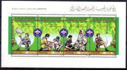 2.3.1982, LIBYE;  75e Anniversaire Du Scoutisme, YT 1013 - 1016 En BF ! , Neuf **, Lot 50860 - Scouting