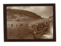 Cliché D Amateur Barrage Du  Lac Noir - F 68 - En 1920 Animée - Lieux