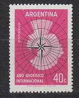 Argentina 1958 IGY 1v ** Mnh (41699B) - Argentinië
