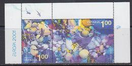 Europa Cept 2001 Ukraine 2v (corner) ** Mnh (41699D) - 2001