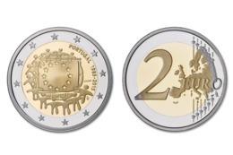 Portugal 30e Anniversaire Du Drapeau De L'Union Européenne (1985-2015).-2015-UNC - Portugal