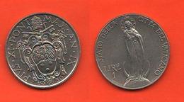 Vaticano Una Lira 1930 Papa Pio XI° Minted 90.000 - Vaticano