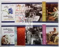 Portugal 2017 Industria Textil Lã Linho Industrie Textile Laine Lin Textile Industry Linen Wool - 1910-... Republik