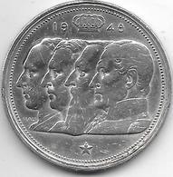 *belguim 100 Francs 1948 Dutch Vf+ - 1945-1951: Regency