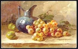 CATHERINA KLEIN - RAISINS - édit. écusson Vert G.O.M. Nr. 2256 - Voir Scans - Relais 's Gravenwezel 1921 - Klein, Catharina