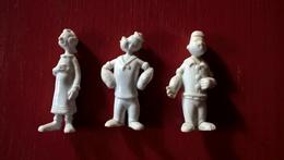 Lot De 3 Figurines  Popeye Et Olive - Mir - Très Bon état - Figurines