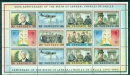 VANUATU  BF N°17 N Xx  DE GAULLE  TB Cote : 20 €. - Vanuatu (1980-...)