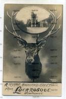 Ross & Cromarty Urquhart Dingwall Postcard 1900s Lochrosque County House  Achnasheen - Ross & Cromarty