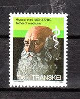 Transkei - 1982. Ippocrate, Padre Della Medicina. Hippocrates, Father Of Medicine. MNH - Famous People