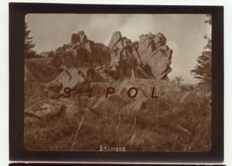 Rocher De Belmont - F 67 - Cliché D Amateur Sépia  Le 30 /IX / 1920 - Lieux