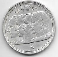 *belguim 100 Francs 1954 French Vf+ - 1951-1993: Baudouin I