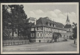CPA - ENGEN I. HEGAU - HOTEL SONNE ... - Edition Locale - Allemagne