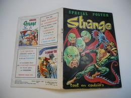 STRANGE EDITION LUG N°67 CAPTAIN MARVEL/// IRON FIST  /// L'ARAIGNEE //// DAREDEVIL //BE++ - Strange