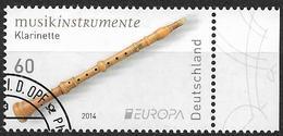 2014  Allem. Fed.  Deutschland MI. 3078 FD-used  Europa: Volksmusikinstrumente. - [7] République Fédérale