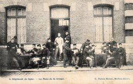 6ème Régiment De Ligne.-Le Mess De La Troupe. - België