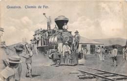 Haïti - Topo / 02 - Gonaïves - Chemin De Fer - Train - Tren - Défaut - état - Haïti