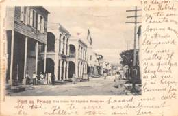 Haïti - Topo / 03 - Port Au Prince - Rue Bonne Foi - Défaut - Haïti