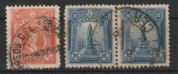 MiNr. 206, 208 Peru 1925/29. Freimarken: Persönlichkeiten. - Peru