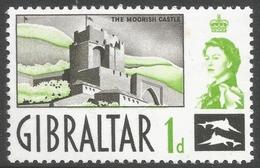 Gibraltar. 1960-62 QEII. 1d MH. SG161 - Gibraltar