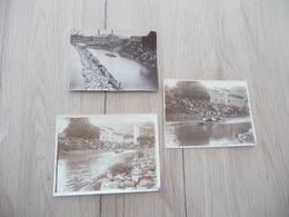 Ardèche 1921/1931 Lot 3 Photos Originales 12X9 Environs  Le Pouzin Joutes - Sports