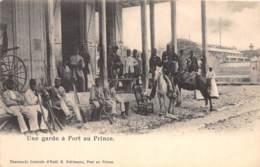 Haïti - Port Au Prince / 65 - Une Garde - Belle Oblitération - Haïti