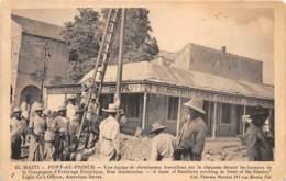 Haïti - Port Au Prince / 66 - Une équipe De Chemineaux - Défaut - état - Haïti