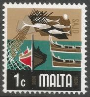 Malta. 1973 Definitives. 1c MH. SG 490 - Malte