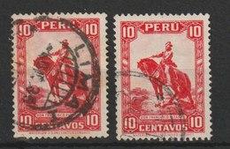 MiNr. 289 Peru 1934, Nov./Dez. Freimarken. - Peru