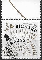 2014  Allem. Fed.  Deutschland MI. 3086 FD-used  150. Geburtstag Von Richard Strauss. - [7] République Fédérale