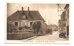 61/ ORNE...PREAUX: La Mairie Et Route De Nocé - Unclassified