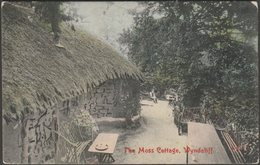The Moss Cottage, Wyndcliff, Monmouthshire, 1907 - Harvey Barton Postcard - Monmouthshire