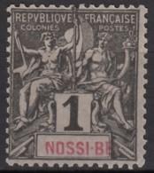 N° 27 - Neuf Sans Gomme - - Nossi-Bé (1889-1901)