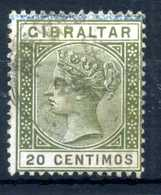 1895 GIBILTERRA N.30 USATO - Gibilterra